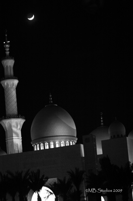 photoblog image Grand Mosque - B&W
